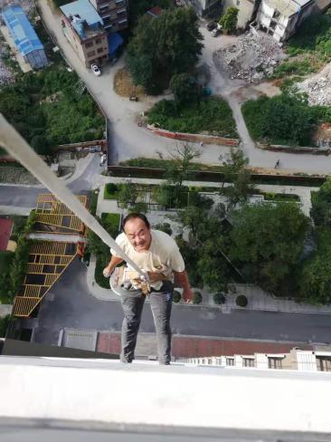 桂林高空外墙清洗