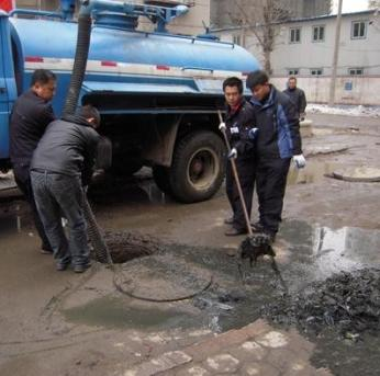 柳州化粪池疏通清淤清理工程