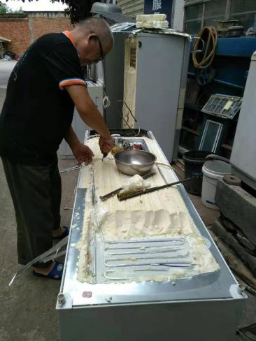 维修电磁大炒炉炒炉煲汤炉