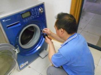 峨眉家电维修洗衣机方法