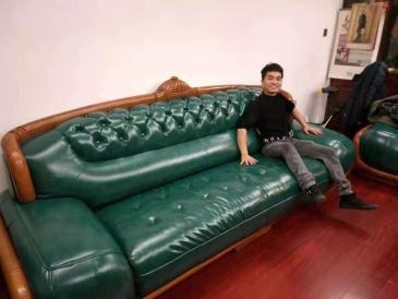 杭州沙发塌陷换海绵 真皮沙发翻新换面