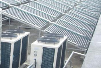 舟山空气能热水工程超低温环境下稳定运行