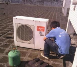 郑州空调维修移机加液安装清洗保养