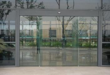 玻璃感应门作用