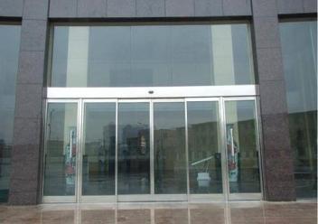 玻璃感应门安装方法