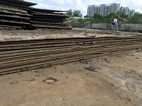 山东铺路钢板租赁价格
