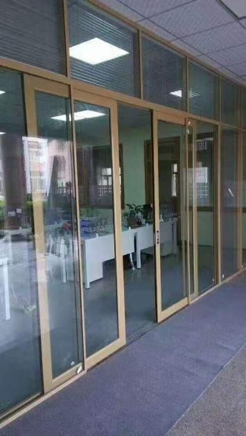 办公室铝合金玻璃隔断优点