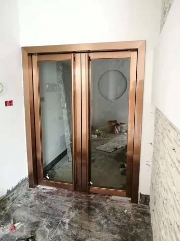 南宁不锈钢玻璃门安装定制