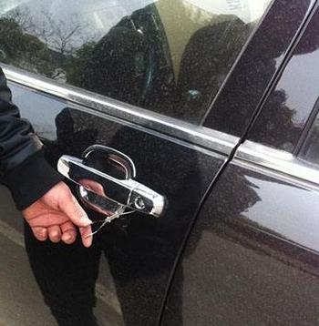 临海开汽车锁汽车门锁方向盘锁