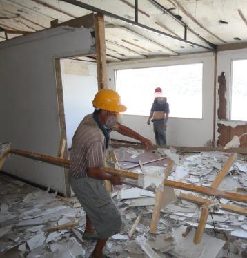 幸福专业拆除公司无论拆旧工程大小都能使您满意