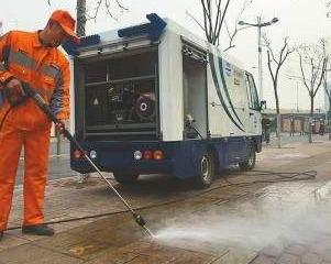 禅城区高压清洗管道