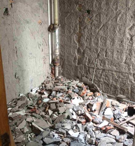 东营敲墙施工流程