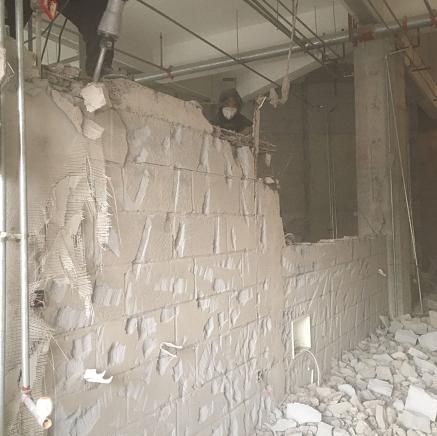 东营地砖拆除墙体拆除