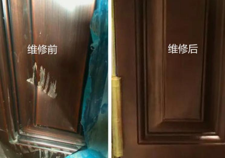 伊犁铜门、仿铜门、防盗门维修翻新