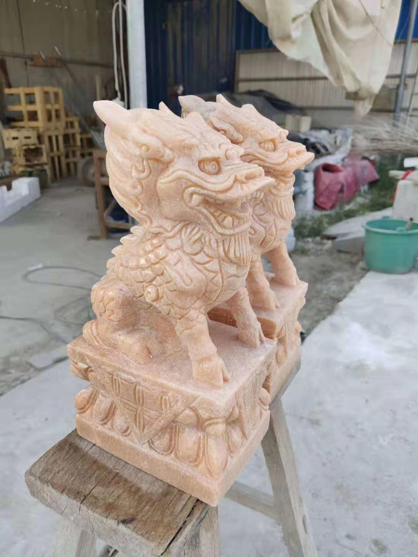 云南石狮子雕刻