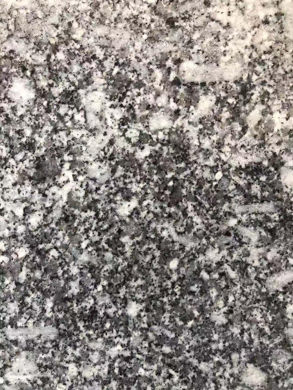 海南芝麻黑 石材的抛光效果