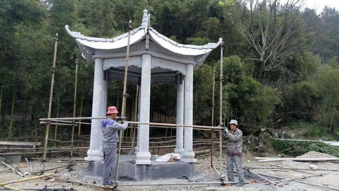 贵州石雕凉亭