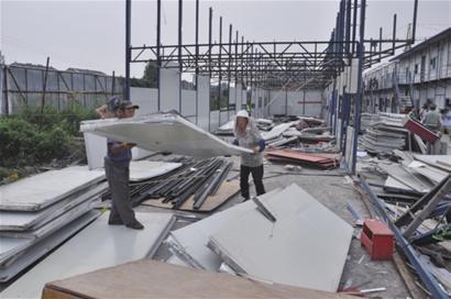 南宁铁棚回收 专业拆除