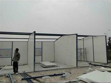 南宁高价回收活动板房 的结构