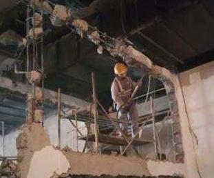 包河区混凝土墙体拆除