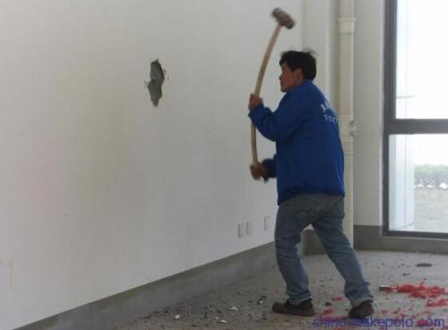 徐州拆除砸墙过于暴力的话不好