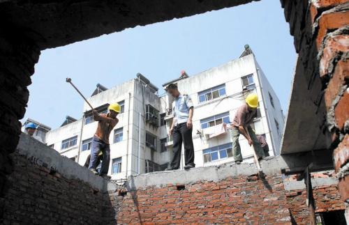 徐州旧房拆除需要遵循建筑物拆除程序