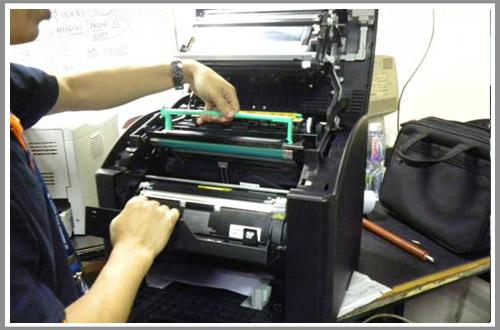 家常见规格打印机维修的方法及步骤