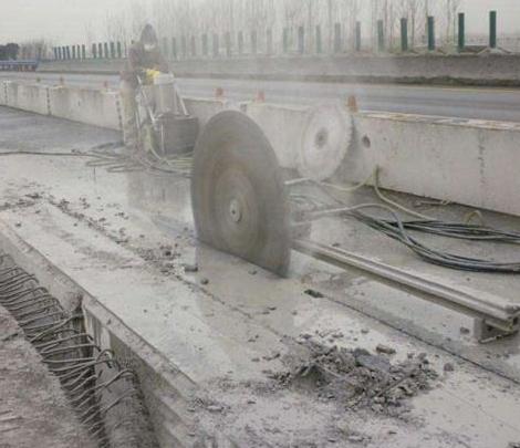 西安混凝土切割 安全施工 文明施工