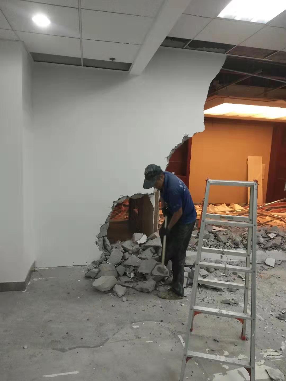 康师傅拆除队拆除打墙服务售后完善
