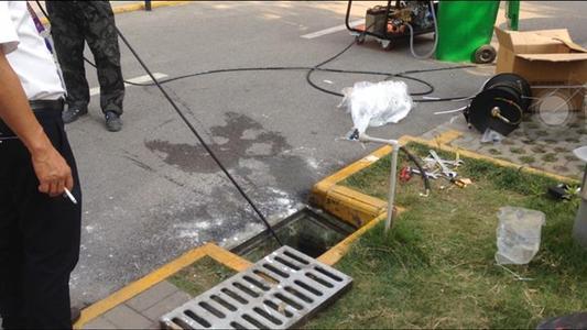 针对不同堵塞形成使用不同的管道疏通方法