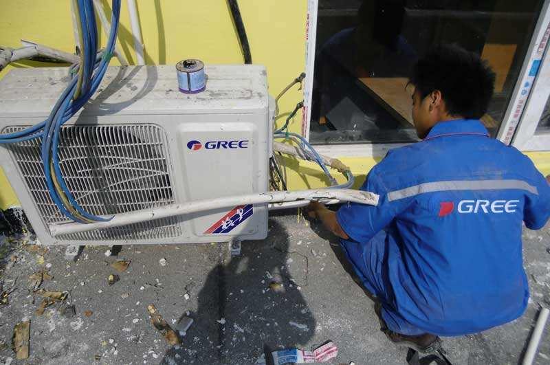 格力空调售后服务解客户之所急