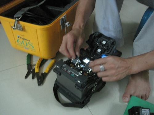 银川光纤熔接 光纤端面的制备