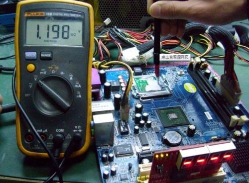 我们专业维修电脑开机无反应黑屏等故障