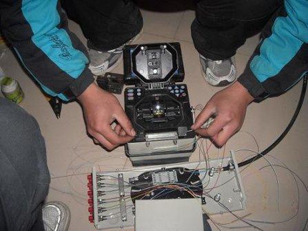 光纤熔接端面的制备环节介绍