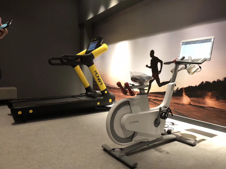 成都健身器材动感单车安装