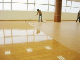 君厚清洁 PVC地板打蜡罩光