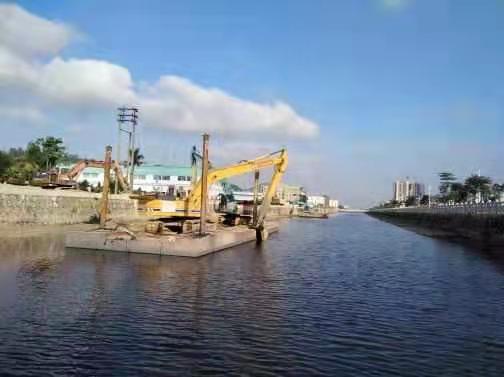 珠海加长臂挖掘机租赁