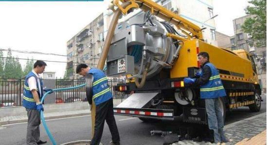 专业高压清洗车疏通管道