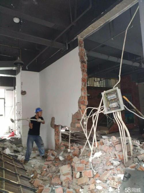 佛山实力雄厚的拆除砸墙公司