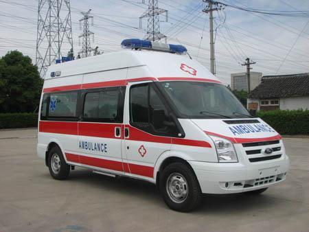 兰州救护车出租价格收费标准