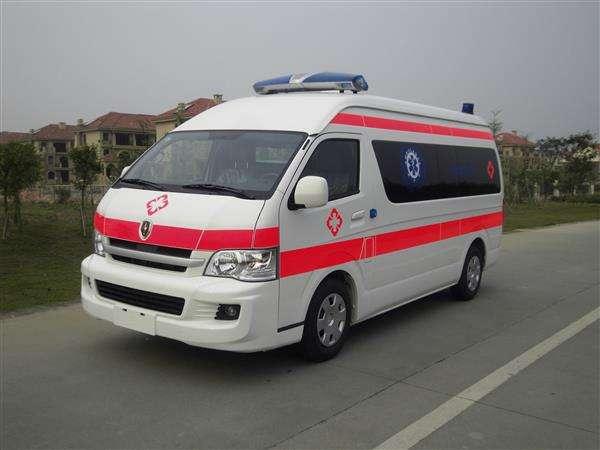 平安达护出租的救护车设施齐全