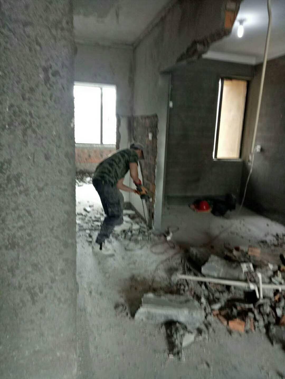 福州拆除公司 房屋拆除 墙体拆除