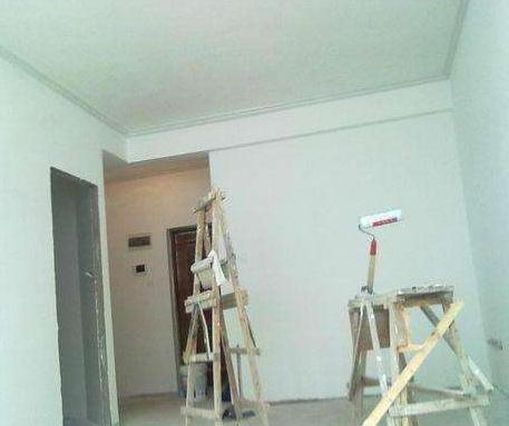 大小墙面粉刷施工刮大白
