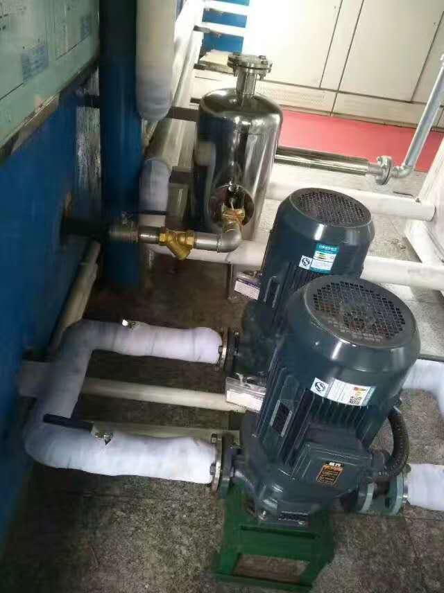 铸造厂空压机余热回收