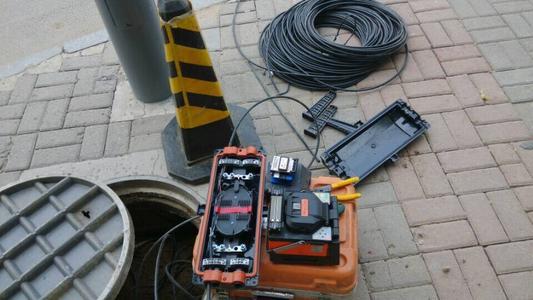 中新安防公司的光纤熔接经验丰富