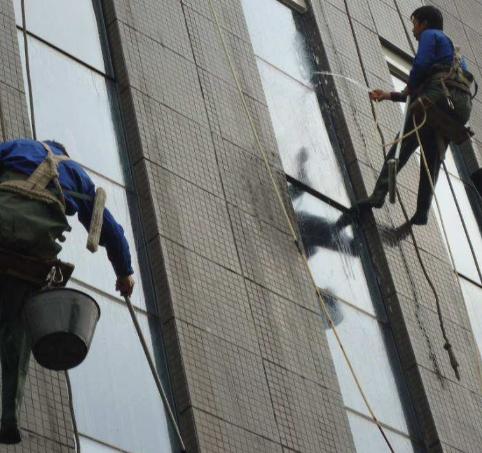 中山清洗外墙和玻璃幕墙