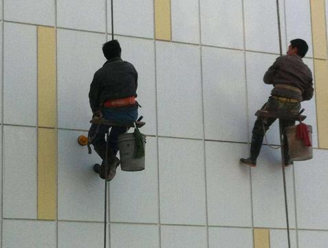 中山高空外墙清洗玻璃幕墙清洗