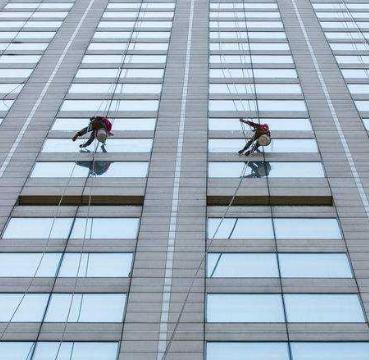 中山高空外墙清洗 平价 专业 品质