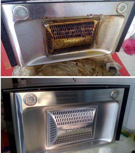 中山油烟机清洗——怎么清洗油烟机