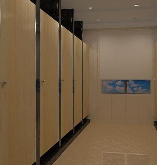 台州卫生间隔断的材料选择三看